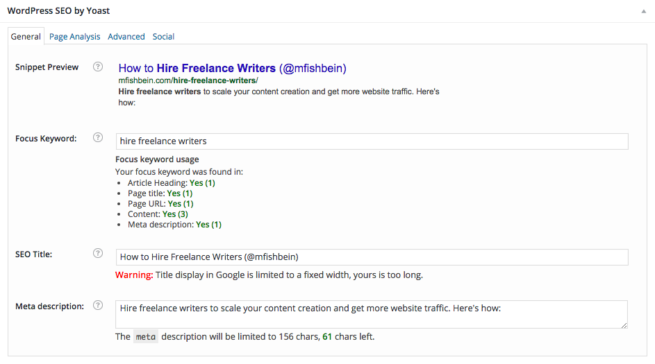 9 technical and on page seo wins mfishbein